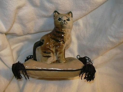 Custom Made Ceramic Cats