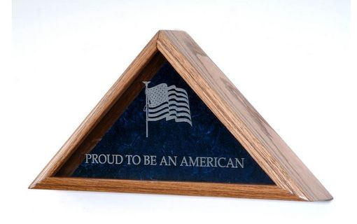 Custom Made Flag Display Cases, Flag Case