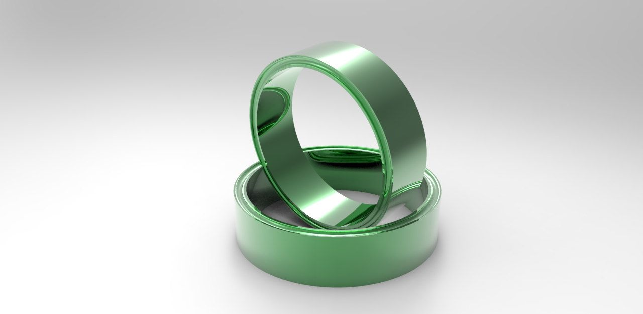 green rings lifestyle blackgreen silicone black only ring fits products that wedding your urokaz the