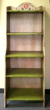 Custom Made Monterey Narrow Bookcase