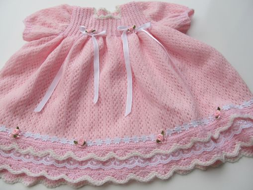 Custom Made Rosebud Baby Dress