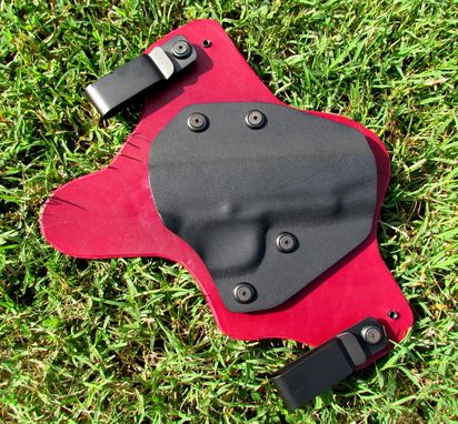 Custom Made Leather And Kydex Holster