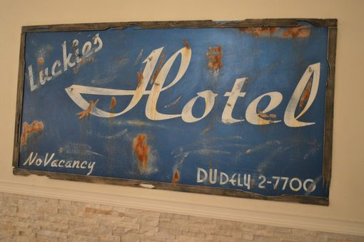 Custom Made Vintage Las Vegas Sign