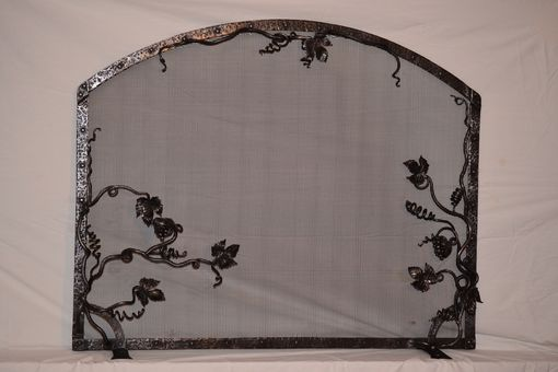Custom Made Grape Vine Firescreen
