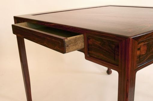 Custom Made Ming Cocobolo Game Table