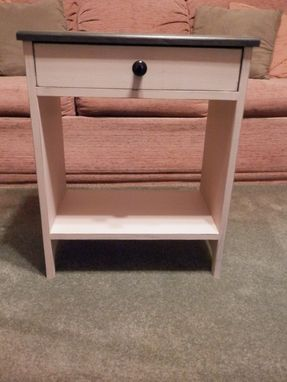 Custom Made Versatile End Table, Side Table, Bedside Table