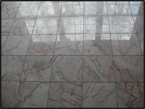Custom Made Marble Tile Installation