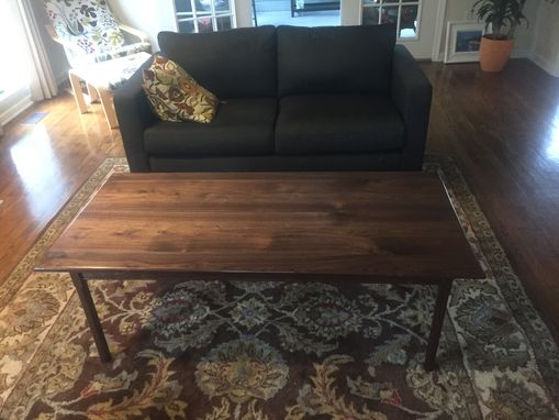 Custom Made Traditional Wood Coffee Table