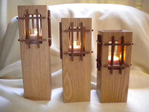 Custom Made Grilled Candle Tower's