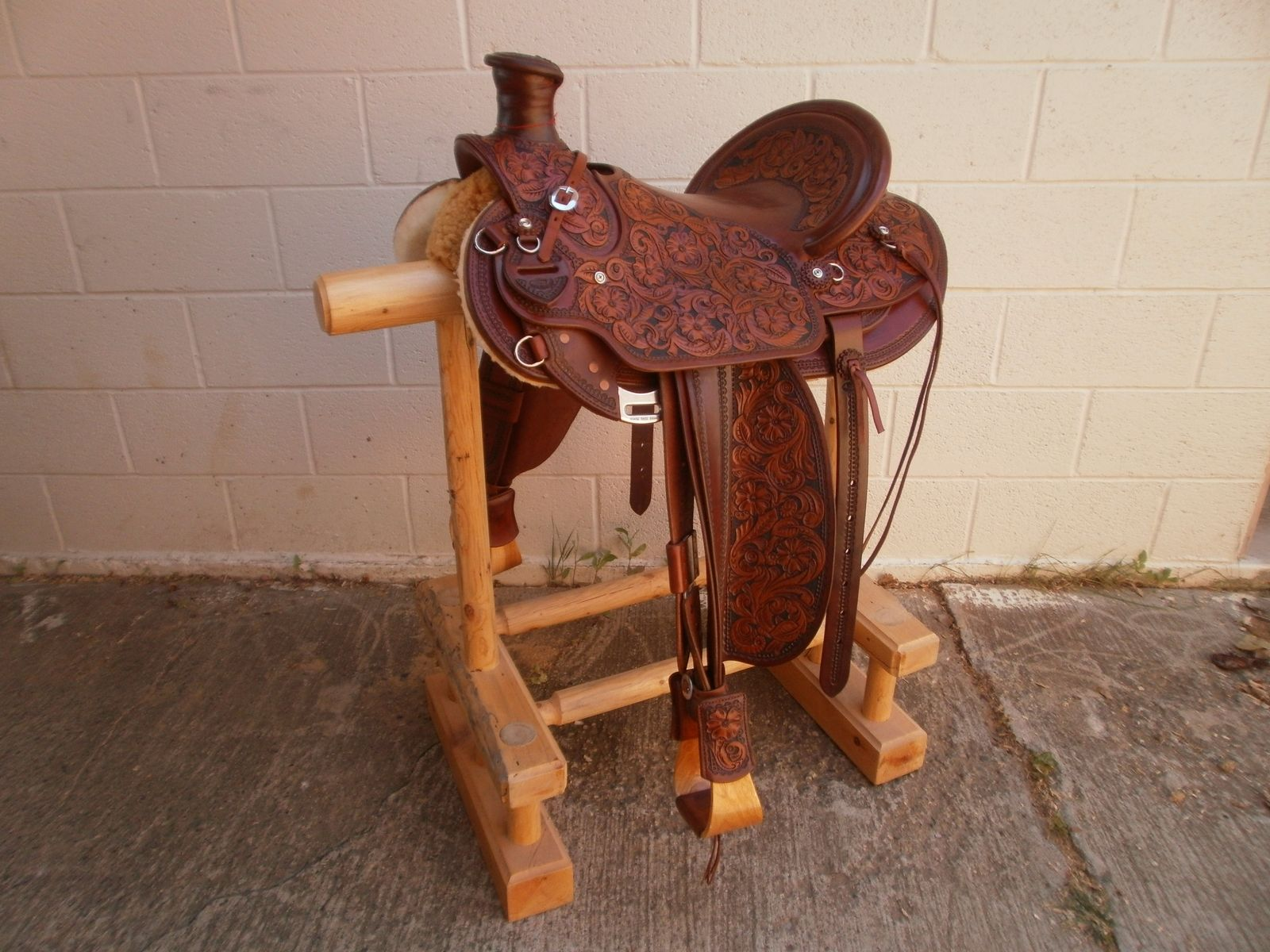 Hand Made Custom Made Wade Tree Saddle By 2nd Chance