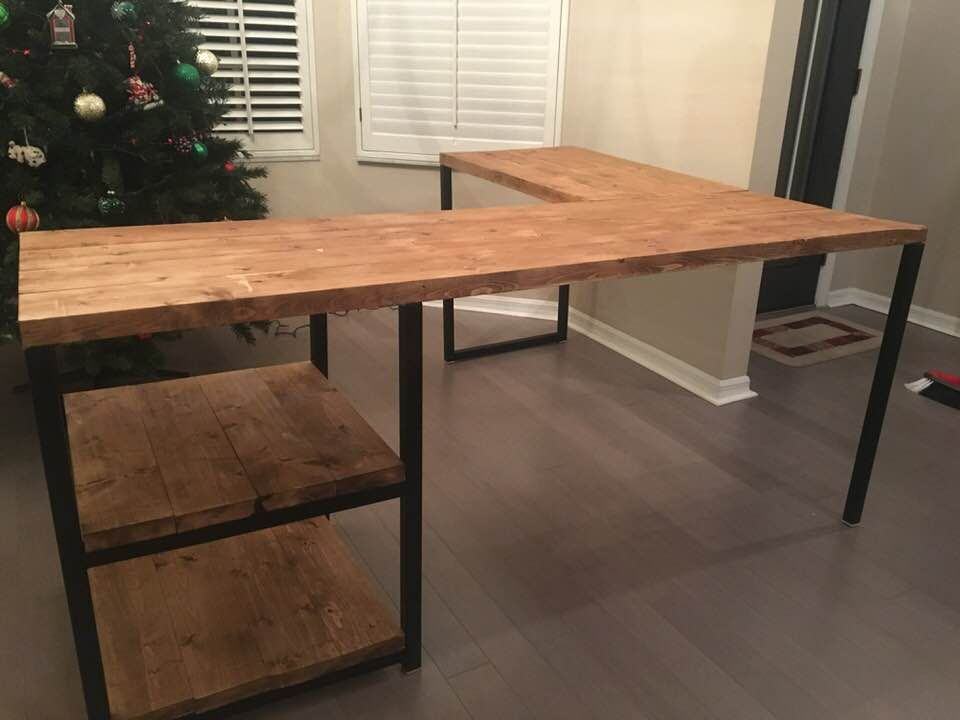 promo code 5bad9 d8cdf Hand Crafted Custom Office Desk by Nicholson Homemade ...