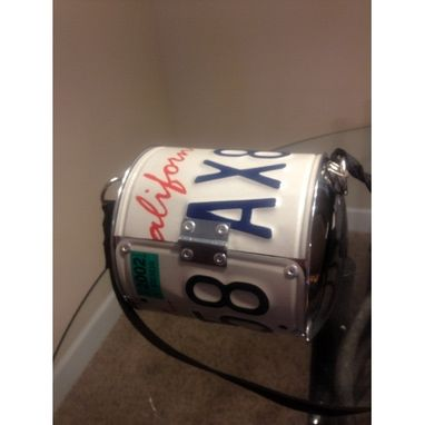 Custom Made License Plate Purse