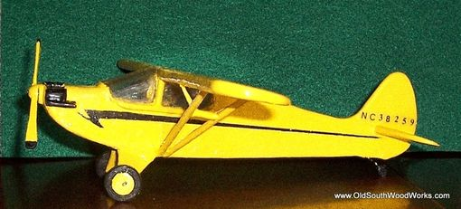 Custom Made Yellow Piper Cub