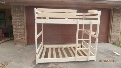 Custom Made Full Over Full Bunk Bed