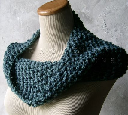 Custom Made The Extraordinary Cowl - In Dusty Teal