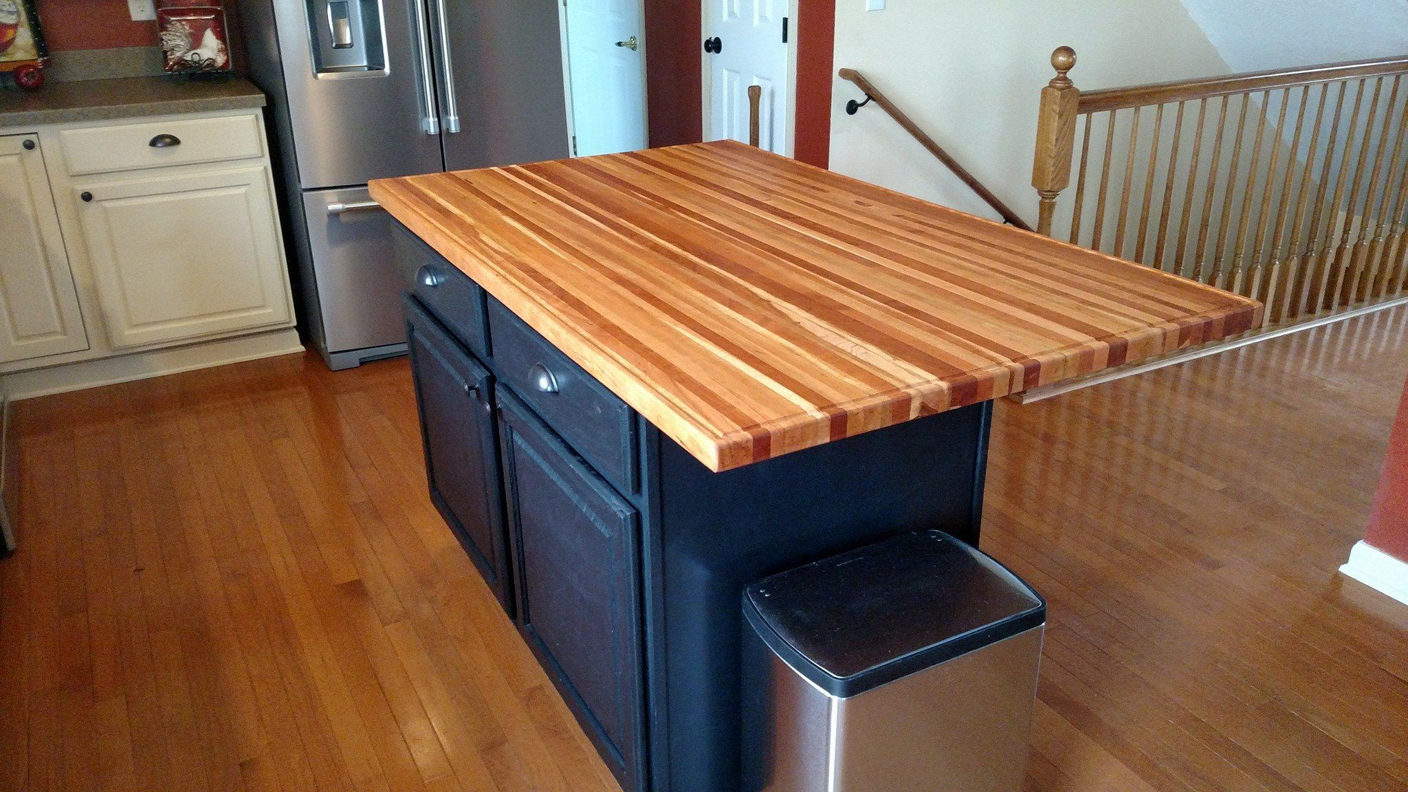 Custom Made Butcher Block Tops And Islands By The Wooden