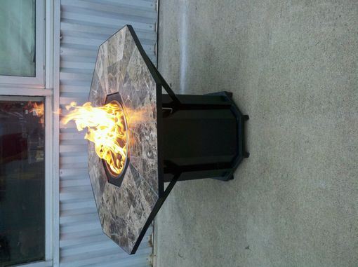 Custom Made Propane Firepit Table