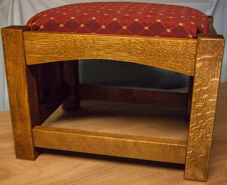 Custom Made Arts And Crafts Ottoman