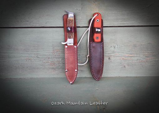 Custom Made Custom Leather Knife Sheaths Made To Fit Your Knife