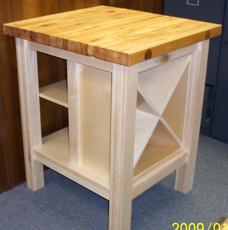 Handmade Maple Cutting Board Kitchen Island by Wood N Glass Designs ...