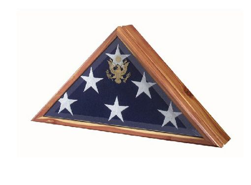 Custom Made Flag Box Flag Display Cases
