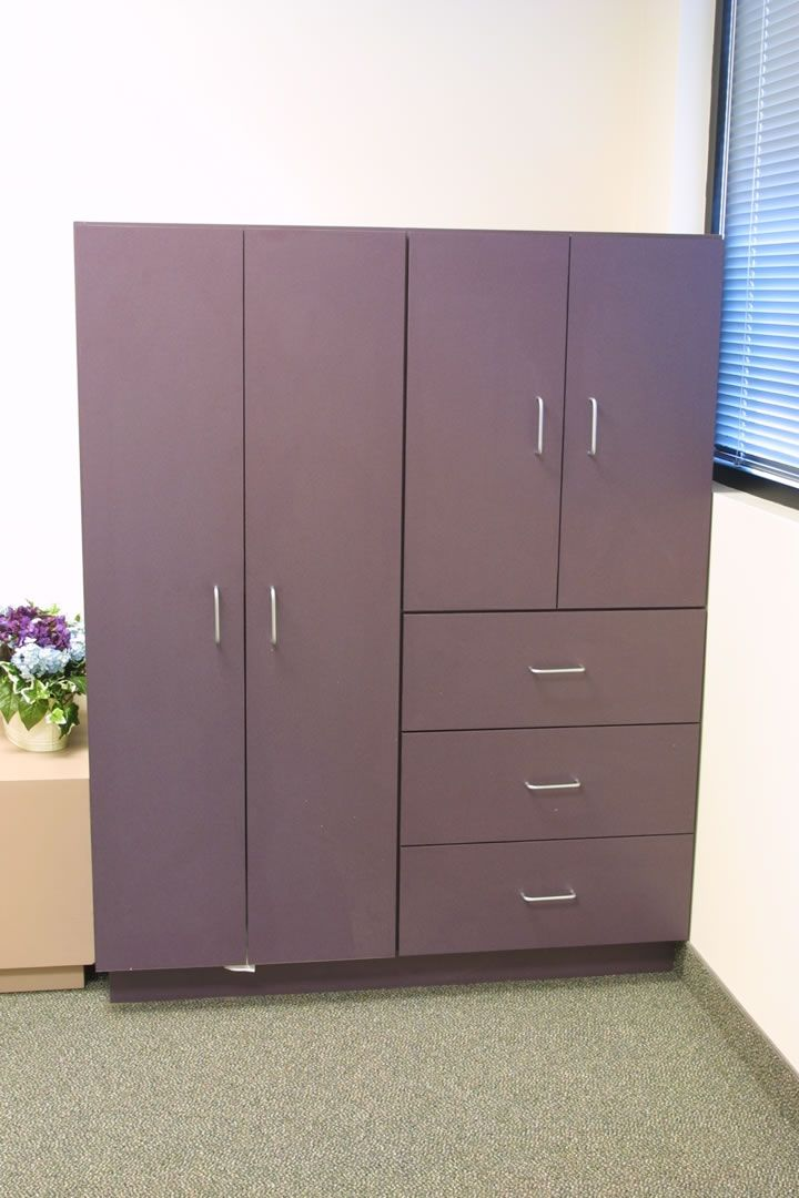 Custom Storage Cabinets By Custom Design Wood Products