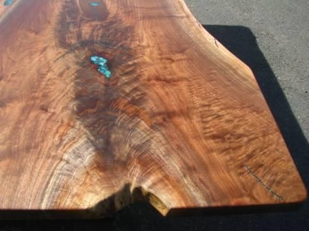 Custom Made Large And Amazing Live-Edge Walnut Dining Table