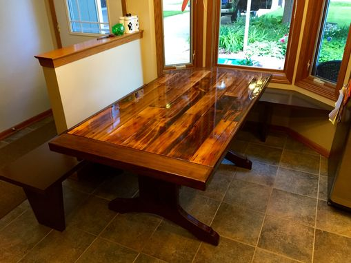 Custom Made Reclaimed Barnwood Table
