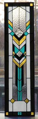 Custom Made Southwest 7 Stained Glass Panel