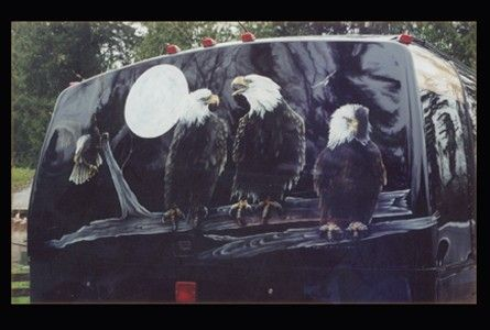 Custom Made Eagles