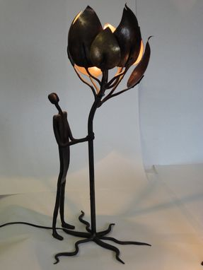 Custom Made Commissioned Table Lamp