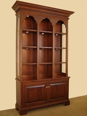 Custom Made Display Cabinet In Mahogany