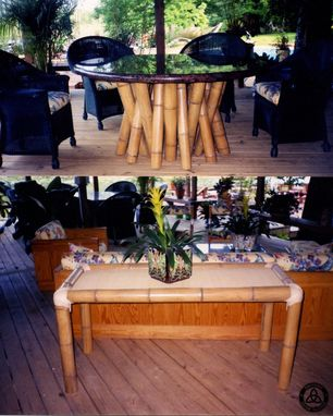 Custom Made #433 Bamboo Lanai Table Set