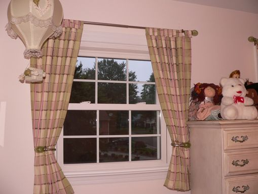 Custom Made Tab Top Valance Or Panels
