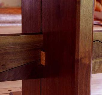 Custom Made Woodworking Joinery
