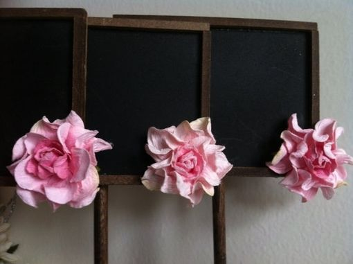 Custom Made Rustic Chalkboard Table Numbers/Display Signs