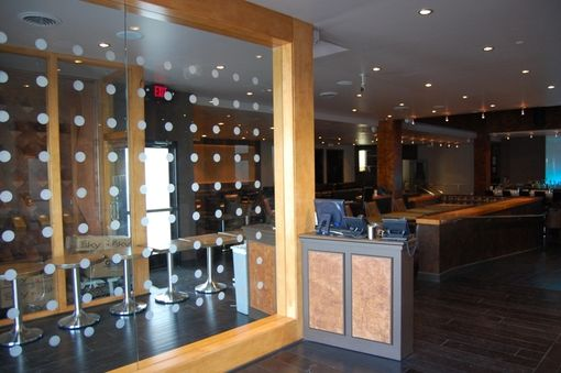 Custom Made Modern Restaurant Cabinetry