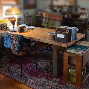 reclaimed wood desks | barnwood desks | custommade