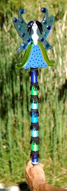 Custom Made Feng Shui Fairy - Fused Glass - Knowledge & Self-Cultivation