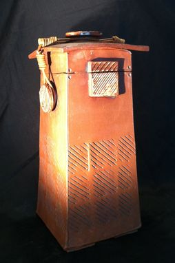 Custom Made Etra Large Treasure Box/Jar/Urn  Terra Cotta