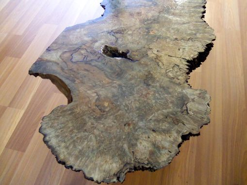 rock maple coffee table hand made live edge maple burl coffee table by ozma design