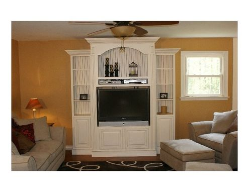Custom Made Contemporary Entertainment Center