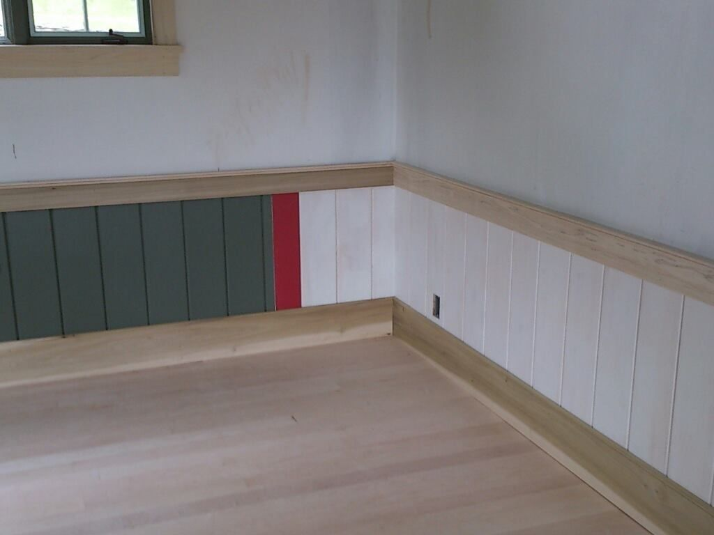 Image Result For Living Room With Wood Chair Rail
