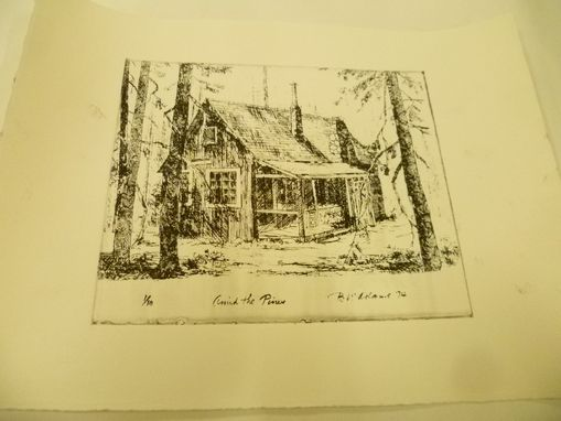 Custom Made Printed Etching From A Negative