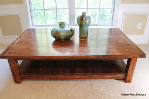 "Custom Made ""Augusta"" Farmhouse Coffee Table"