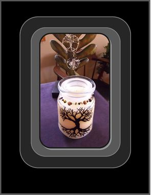Custom Made Vanilla,Tree Of Life,Candle,Most Popular