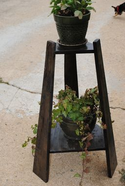 Custom Made Mission Plant Stand