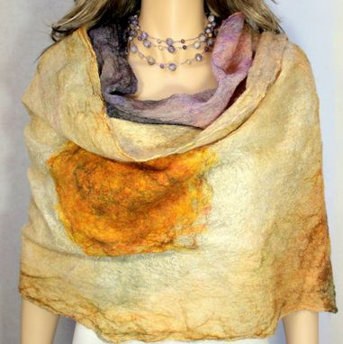 Custom Made Uniquely You Gemstone Necklace And Scarf Or Shawl Set