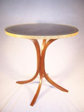 Custom Made Twisted Leg Table