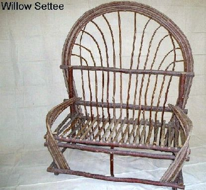 Custom Made Willow Settee